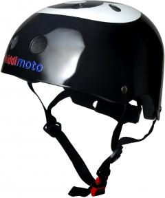 Шлем детский Kiddi Moto бильярдный шар, чёрный