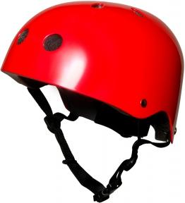 Шлем детский Kiddi Moto красный металлик