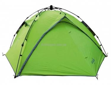 Палатка полуавтомат  3-х местн. двухслойная Norfin TENCH 3  3000мм / FG / (70)+190+(70)Х220х120см / NF