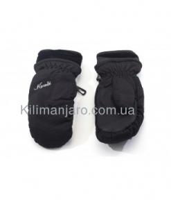 Перчатки Kombi DOWNY WG W, пуховые, Black Размер S 32996