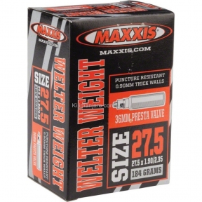 maxxis Камера Maxxis Welter Weight (IB75079300) 27.5x1.90/2.35 FV L:48 мм 51750793