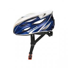 Шлем EXUSTAR BHR104-1 22 отверстия, регулятор, синий