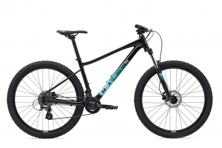 Велосипед 27,5 Marin WILDCAT TRAIL 3 2020 Gloss Black/Dark Teal/Light Teal