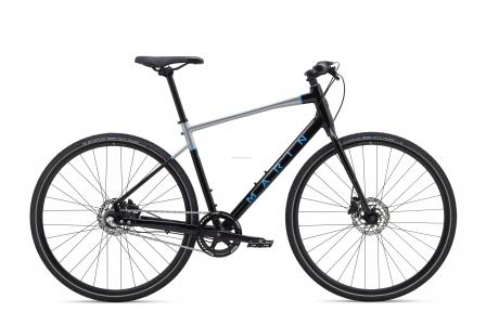 Велосипед 28 Marin PRESIDIO 1 2020 Gloss Black/Charcoal/Cyan