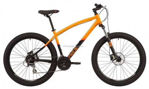 Велосипед 27,5 Pride RAGGEY  оранжево-черный 2020