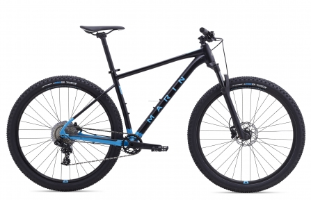 Велосипед 29 Marin TEAM MARIN  2020 Satin Black/Cyan