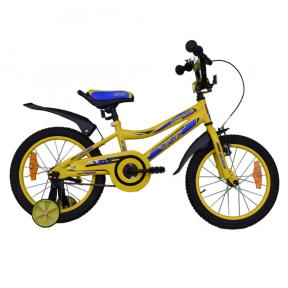 Велосипед VNC 16 Breeze (1617-GS-YB)  22см  желто-голубой