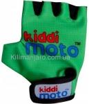 Перчатки детские Kiddi Moto неоновые зелёные