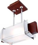 Потолочный светильник Altalusse INL-3068C-1 Walnut &  White