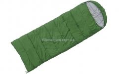 Спальник Terra Incognita Asleep 200 L одеяло с капюшоном (зелёный)