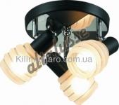 Потолочный светильник Altalusse INL-9269C-03 Chrome & Wengue