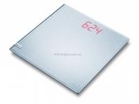 Весы напольные электронные BEURER GS 40 MAGIC PLAIN SILVER