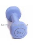 Гантель виниловая Reebok 3 кг