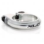 Зажим для подседельной трубы, XLC PC-B01 ,34,9 мм, серебристый