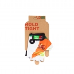 Перчатки Green Cycle NC-2339-2014 Kids без пальцев бело-оранжевые