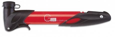 Мининасос Green Cycle GCP-77 пластиковый, presta+schreder, красный