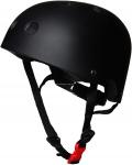 Шлем детский Kiddi Moto чёрный матовый