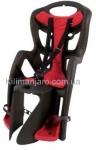 Сиденье задние (детское велокресло) Bellelli PEPE Standart Multifix до 22 кг, серое с красной подкладкой