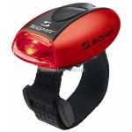 Мигалка задняя Sigma Micro II R (17231), 1Led, 2 режима, красно-черная