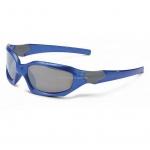 Очки детские велосипедные Xlc 'Maui' SG-K01 оправа голубая, отражающие линзы