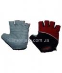 Перчатки без пальцев In Motion NC-1315-2010 черн-красн
