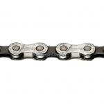 Цепь NOVE-91DHT Silver/Black 1/2x5/64,116L, 9ск.