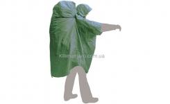 Накидка от дождя Terra Incognita PonchoBag S-M (зелёная)