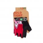 Перчатки Green Cycle NC-2334-2014 MTB Feminine без пальцев розовые