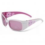 Очки детские велосипедные Xlc 'Maui' SG-K03 оправа белый/розовый, линзы розовые