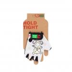 Перчатки Green Cycle NC-2532-2015 Kids без пальцев белые