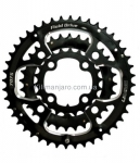 Звезда к шатуну SUN RACE CRMX0 22T 7075 Anodized Black HP Pack