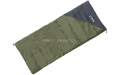 Спальник Terra Incognita Campo 200 одеяло (хаки/серый)
