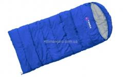 Спальник Terra Incognita Asleep JR 200 R одеяло с капюшоном (синий)