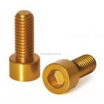 Болты крепления флягодержателя XLC BC-X02, золотистые, 2шт