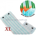 Губка универсальная Leifheit Micro Duo XL (Швабра Twist 42 см) 52017