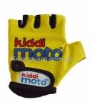 Перчатки детские Kiddi Moto неоновые жёлтые