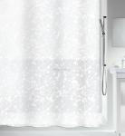Шторка для ванной виниловая Spirella BANG белая