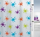 Шторка для ванной (peva) - SPLASH разноцветный