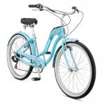 "Велосипед 26"" Schwinn Hollywood Women 2017 blue"