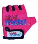 Перчатки детские Kiddi Moto неоновые розовые