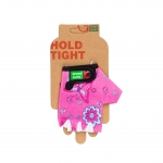 Перчатки Green Cycle NC-2529-2015 Kids без пальцев розовые