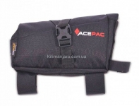 Сумка на раму Acepac ROLL FUEL BAG M, серая