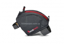 Сумка на раму Acepac TUBE BAG, серая