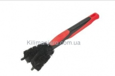 Щетка Zefal ZB Double Brush (119201) пласт. черная