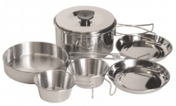 Комплект посуды. Нержавеющая сталь Tramp TRC-001