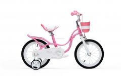 "Велосипед RoyalBaby LITTLE SWAN 12"", розовый 2017"