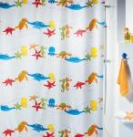 Шторка для ванной Spirella AQUARIUM многоцветный