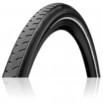 Покрышка Continental RIDE Classic Reflex, 28, 700x42C (40C), 28x1.60, 42-622, Wire, ExtraPuncture Belt, черный