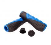 Грипсы Green Cycle GC-G301 130mm эргономичные, черно-синие