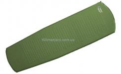 Коврик самонадувающийся Terra Incognita Air 2.7 Lite (зелёный)